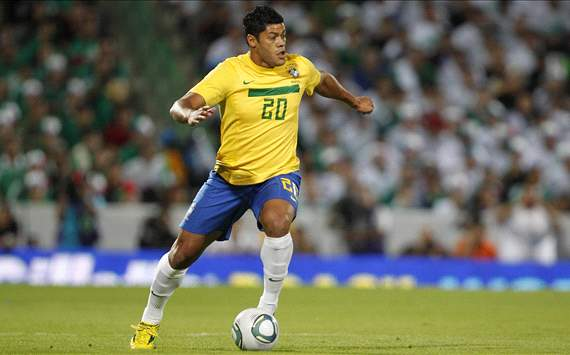 Hulk - Brasil x México ( Foto: Rafael Ribeiro / CBF)