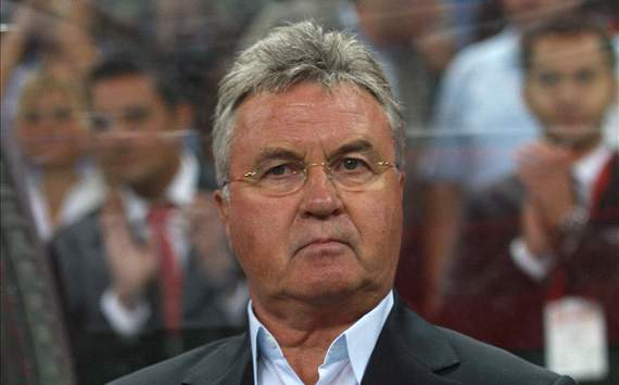 Hiddink takes responsibility for 3-0 defeat