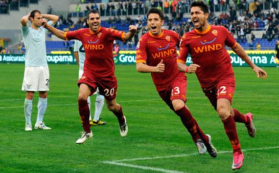 Roma-Lazio 2010 (Getty Images)