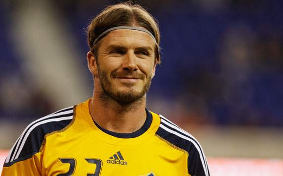 LA GALAXY star David Beckham won't give up on England recall