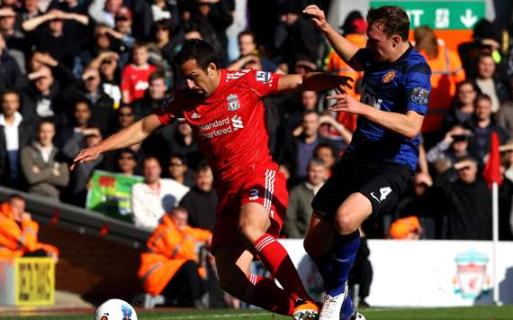 EPL : Phil Jones - Jose Enrique, Liverpool vs Manchester United