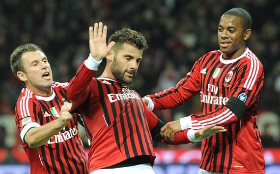 TEAM NEWS: Robinho, Antonio Cassano & Zlatan Ibrahimovic Start For AC Milan ...