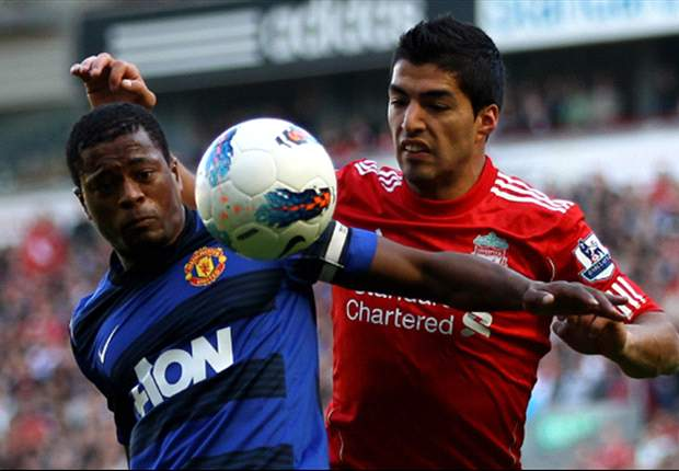 Manchester United defender Patrice Evra to talk to FA over Luis Suarez racism row - report