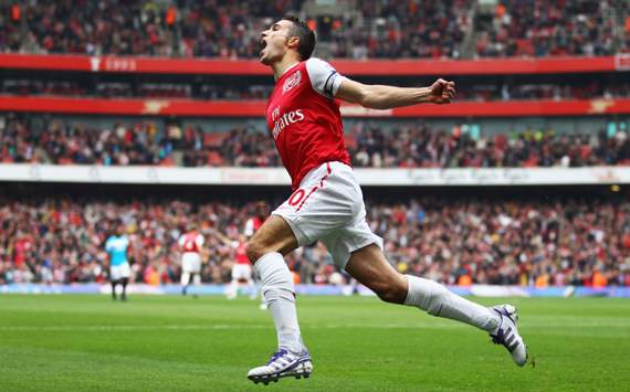 EPL: Robin van Persie, Arsenal v Sunderland