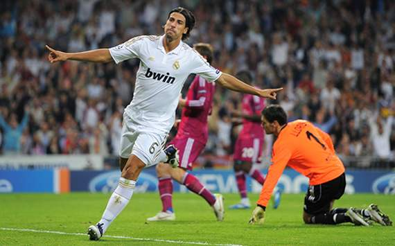 UEFA  Champions League: Real Madrid CF v Olympique Lyonnais: Sami Khedira