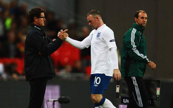 'Rooney only understands Scottish' - Former England boss Capello hits back 