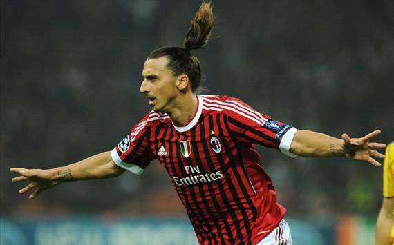 Zlatan Ibrahimovic - Milan-Bate Borisov - Champions League (Getty Images)
