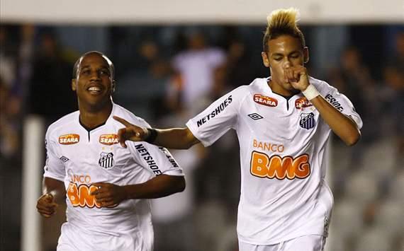 Neymar - Santos x Botafogo ( Foto: Flickr Santos)