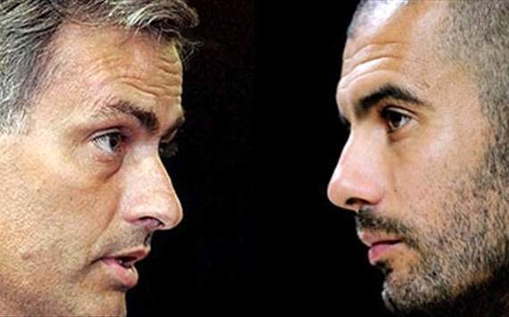 Jose Mourinho, REAL MADRID - Pep Guardiola, Barcelona
