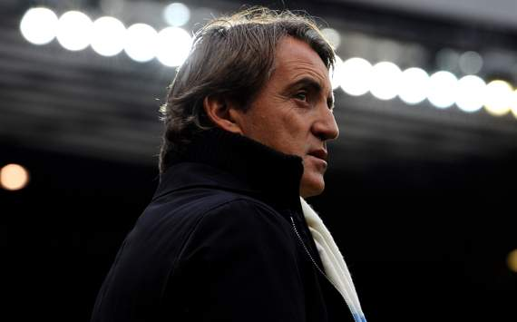EPL - Manchester United vs Manchester City, Roberto Mancini