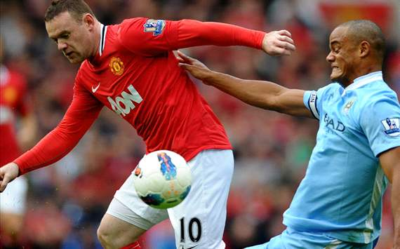 Rooney, manchester united Vs manchester city