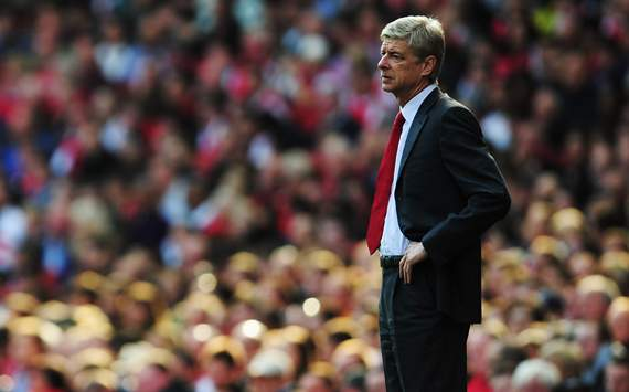 EPL: Arsene Wenger,Arsenal v Stoke City