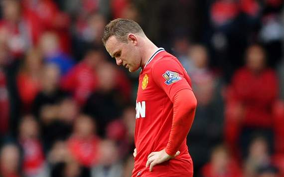 EPL- Manchester United v Manchester City, Wayne Rooney