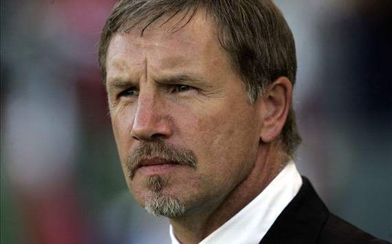 Baxter test driving his Kaizer Chiefs starting eleven