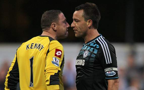 Paddy Kenny and John Terry