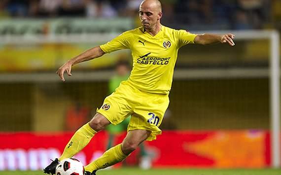 El jugador del Villarreal, Borja Valero