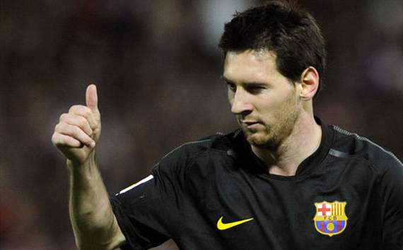 Messi,Granada vs Barcelona