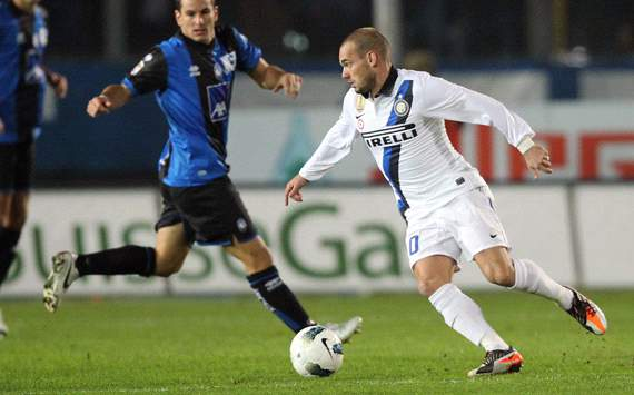 Wesley Sneijder - Atalanta-Inter - Serie A (Getty Images)
