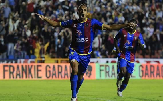 Liga BBVA: Levante-Real Sociedad: Valmiro Lopes 'Valdo'