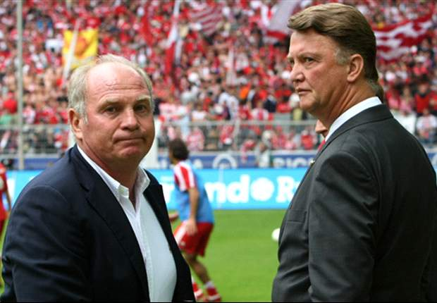 Van Gaal believes he is god's father, says Hoeness