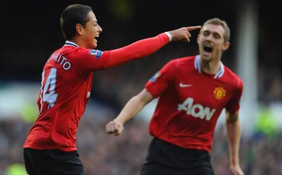 Hasil Skor Everton 0  - 1Manchester United