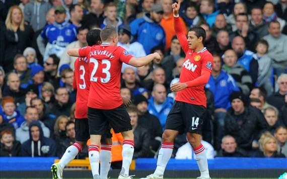 EPL - Everton vs Manchester Unite, Hernandez