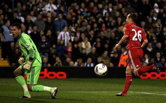 West Bromwich Albion 0 - 2 Liverpool