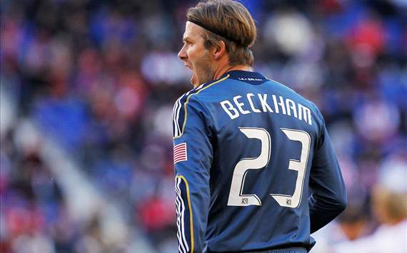 David Beckham - LA Galaxy vs. New York Red Bulls