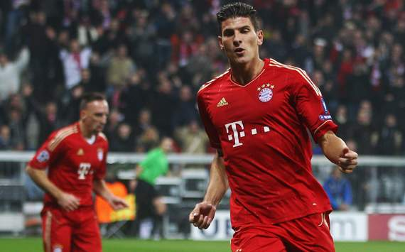Champions League: Bayern Munich - Napoli, Mario Gomez