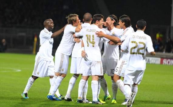 CL - Olympique Lyonnais v Real Madrid