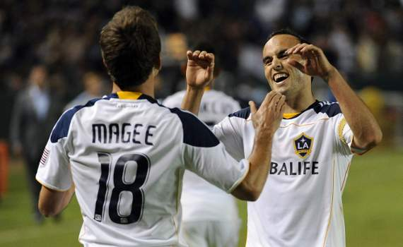 Landon Donovan, Mike Magee, LA Galaxy, MLS
