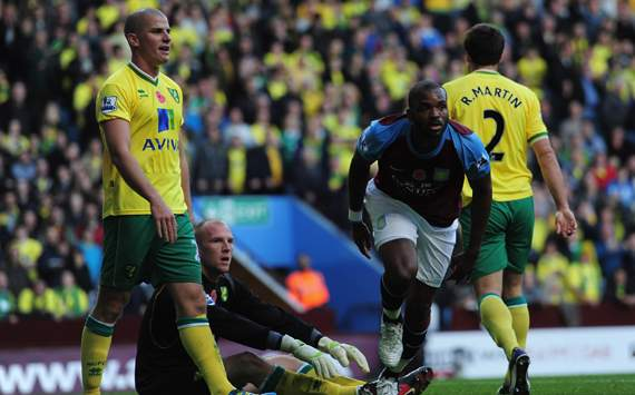 EPL,Darren Bent,Aston Villa v Norwich City