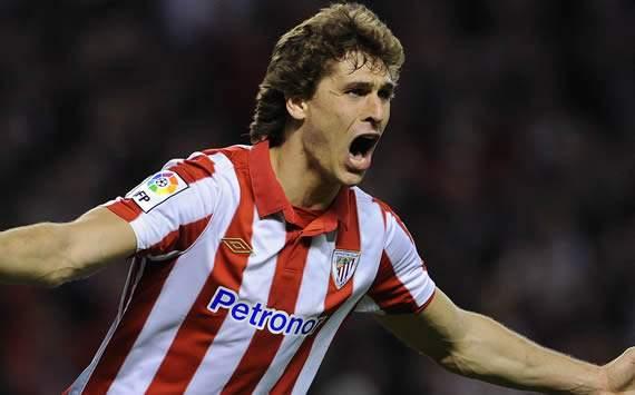 Fernando Llorente, delantero del Athletic de Bilbao