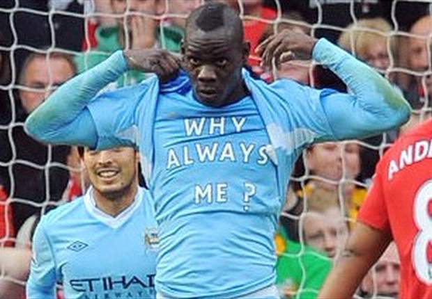 Why always me? Mario Balotelli reacts to his controversial position in the Goal.com 50