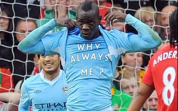 Manchester City star Mario Balotelli stuns students by stopping at college to use toilet