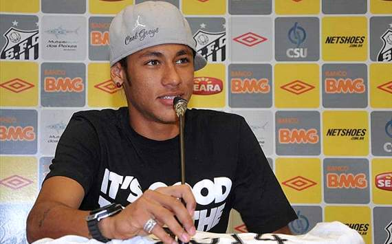 The Good Life: Santos And Brazil Striker Neymar