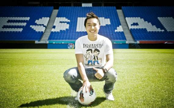Espanyol's Indonesian teenager Arthur Irawan aims for regular spot