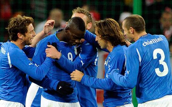 Italy celebrating against Poland (Getty Images)