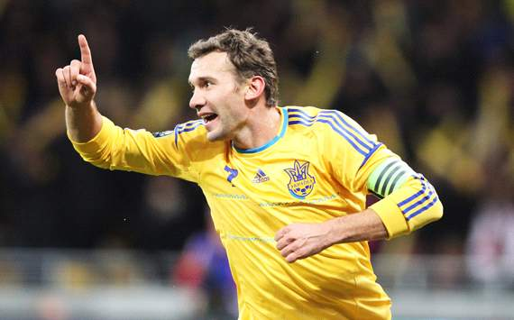 Ukraine vs. Germany, Andriy Shevchenko