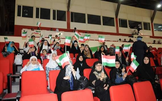 Iran supprters in Manama