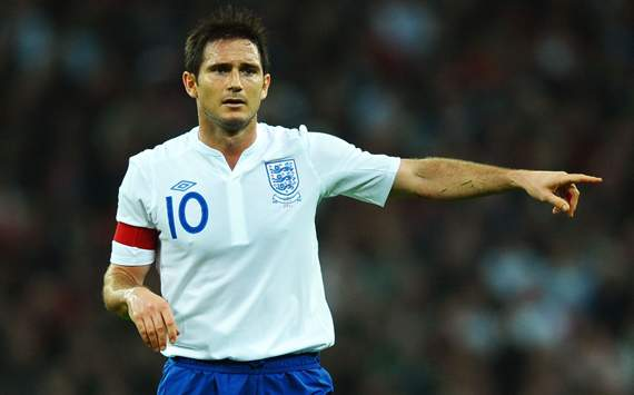 International Friendly - England v Spain, Captain Frank Lampard