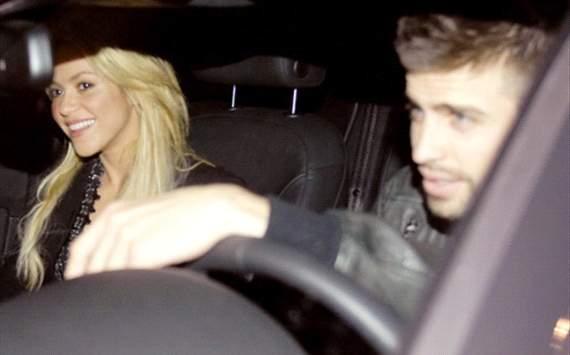 Gerard Pique y Shakira (Barcelona)
