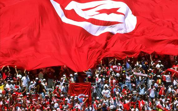 Big Flag for Tunisia