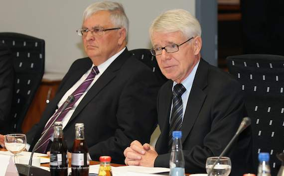 Dr. Theo Zwanziger, Reinhard Rauball