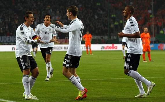 Germany vs Netherlands, Miroslav Klose & Thomas Müller