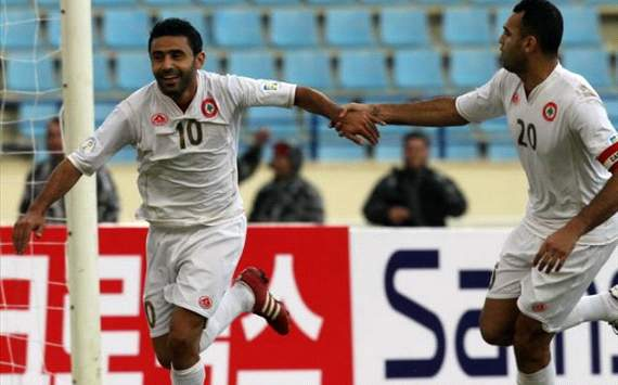 Lebanon Vs South Korea, Abbas Atwi and Reda Antar