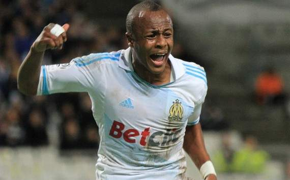 Arsenal target Andre Ayew to extend contract at Marseille by one year - report
