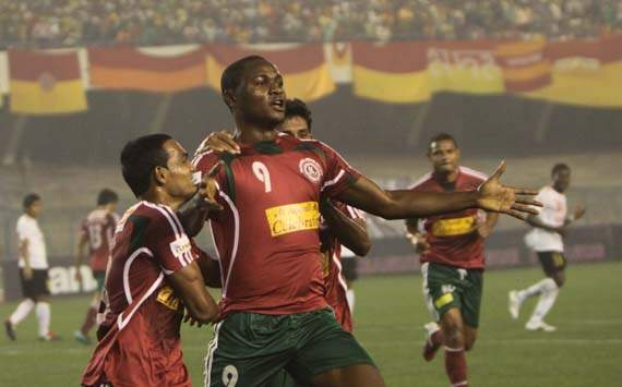 Odafa Okolie, Mohun Bagan vs East Bengal, I-League