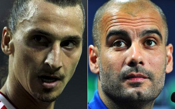 When Ibrahimovic met Guardiola