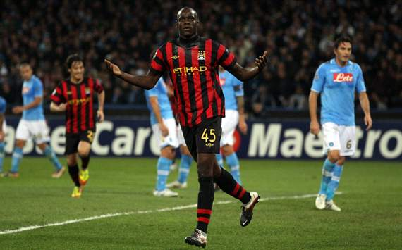 Mario Balotelli - Napoli-Manchester City (Getty Images)
